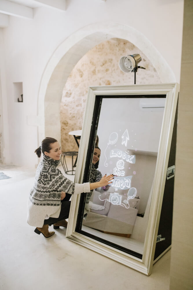Your Mirror Booth Photobooth Hire Greece Crete